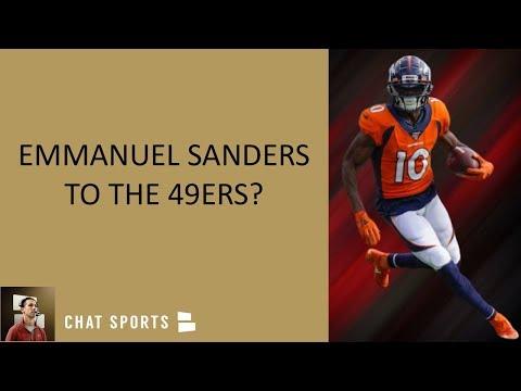 49ers Trade Rumors: Could San Francisco Trade For Broncos WR Emmanuel Sanders?