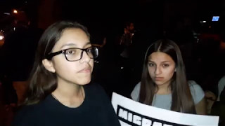 Protest against Guadalupe's Deportation