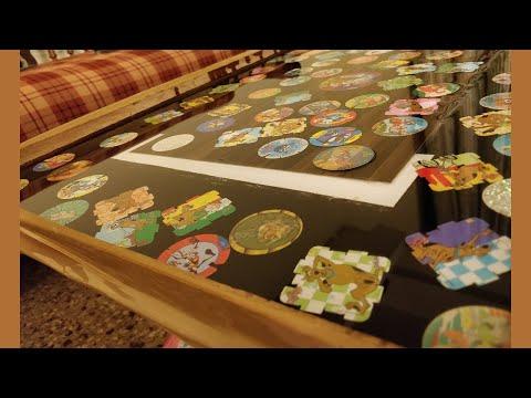 How to Use Resin Epoxy Table Tazos | DIY | TUTORIAL | 4K