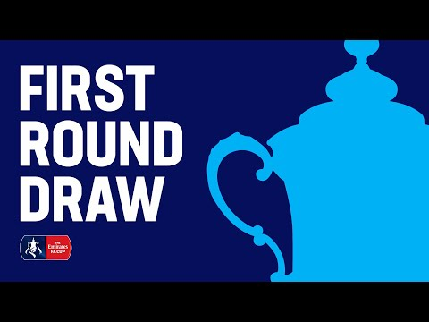 The Emirates FA Cup First Round Draw LIVE | Emirates FA Cup 19/20