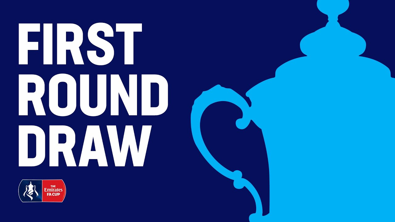 The Emirates FA Cup First Round Draw | Emirates FA Cup 19/20