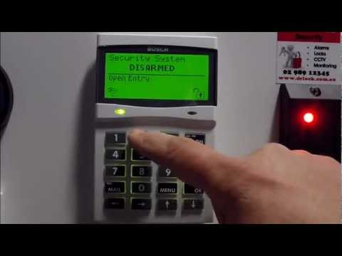 How To Change Your Bosch Alarm Code Alarms Sydney 04 888