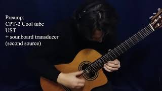 Takamine TH90 Hirade classical electric guitar demo