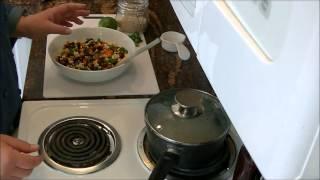 One Pot Meals: Black Bean Quinoa Salad