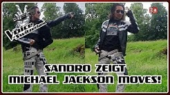 Sandro zeigt Michael Jackson Moves I The Voice of Switzerland 2020