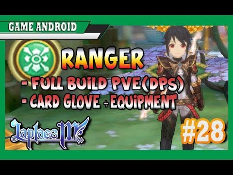 RANGER BUILD FULL DPS(PVE + PVP) LAPLACE M(tales of wind)#28