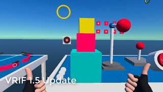 VRIF 1.5 Update - Physics Hands and Velocity Grabbables