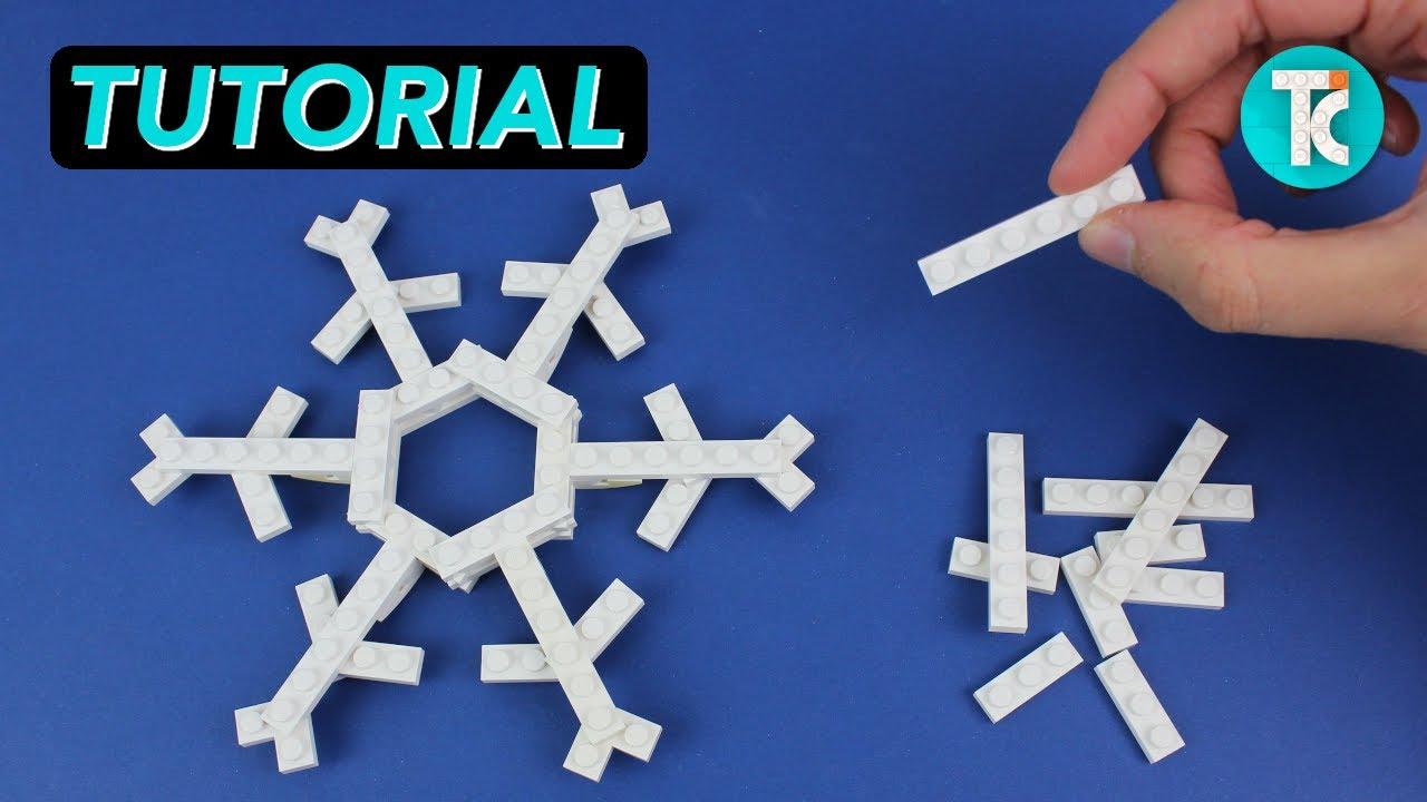 LEGO Snowflake (Tutorial)