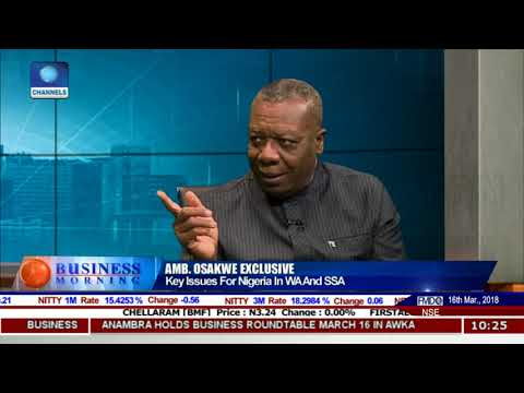 What Continental Free Trade Area (CFTA) Means For Africa - Amb Osakwe |Business Morning|