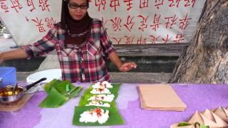 Cara cara untuk membungkus nasi lemak
