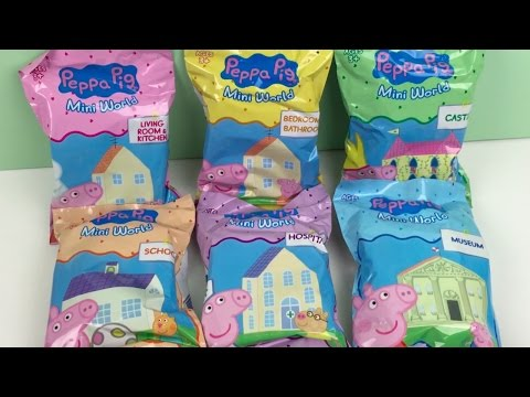 Peppa Pig Mini World Surprise Blind Bags