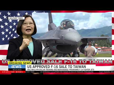China Crying After US Approves F-16 Support For Taiwan