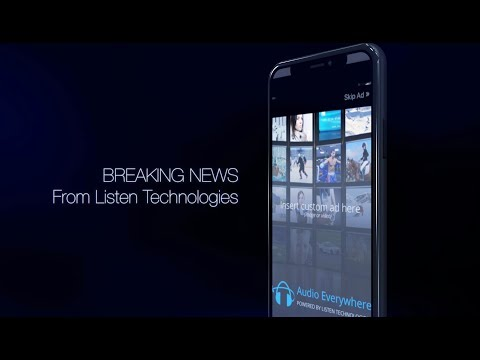 Breaking News From Listen Technologies