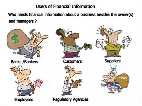 users of financial information How internal and external users benefit by this assumption, the users of financial comparability is simply allows the business or users of information to.