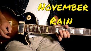 Guns n Roses - November Rain solo cover (Better Quality)