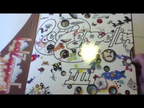 Led Zeppelin III with spinner