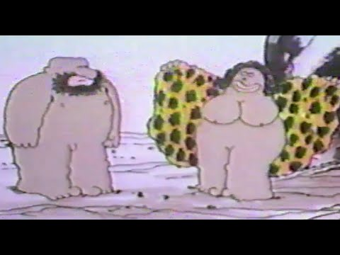 Adult Cartoon / Real-life Film mashup/hybrid movie from USA about human evolution