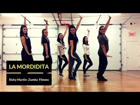 Ricky Martin - La Mordidita - Zumba Fitness Granby by Cynthia Blais