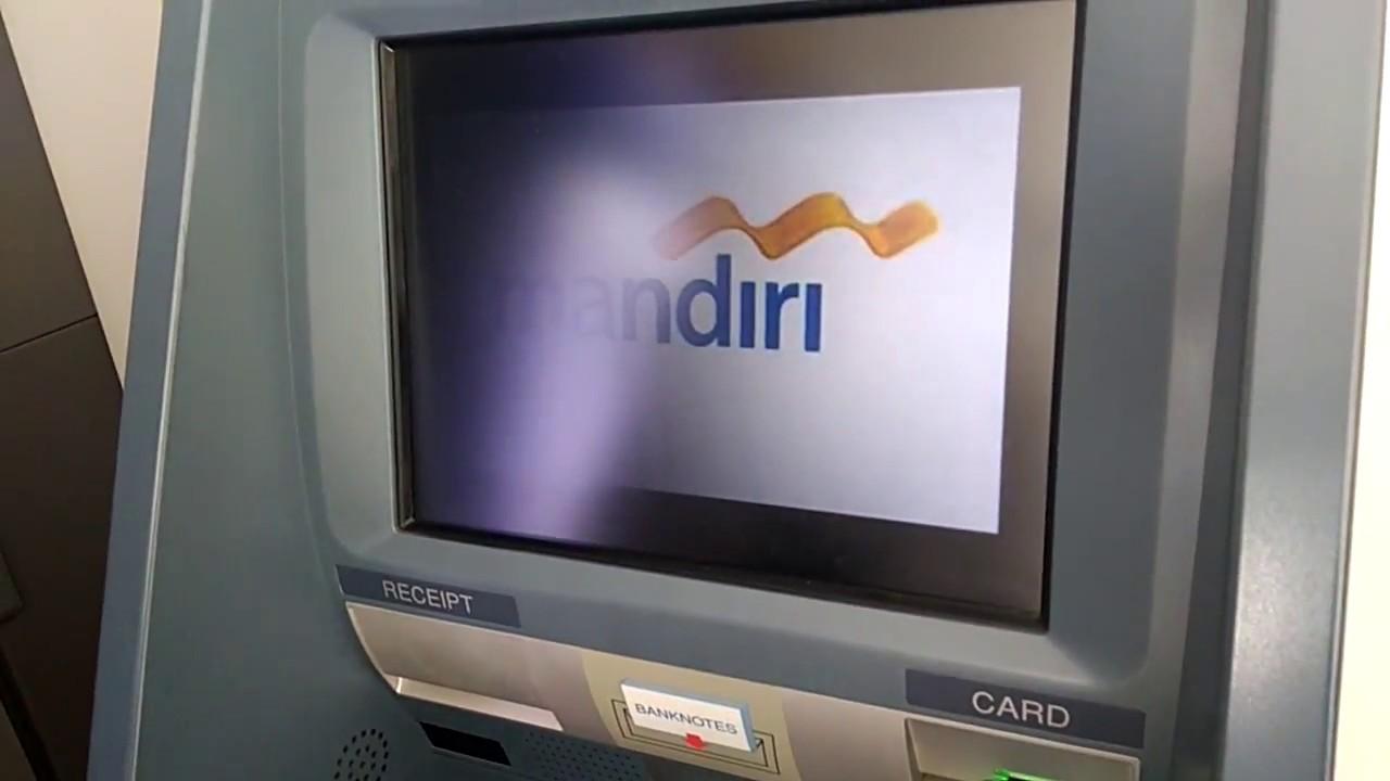 Cara Setor Tunai di ATM Mandiri - YouTube