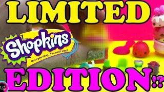 Limited Edition Shopkins Toy Hunt | Num Noms | Shoppies Peppa Mint Season 4 Exclusives VIP Card