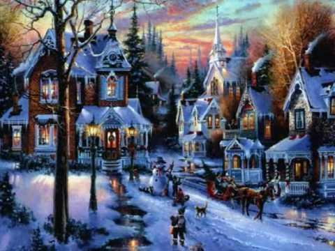 Kerstwens youtube - Christmas village wallpaper widescreen ...