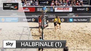 1.Männer-Halbfinale   Komplett   Timmendorfer Strand–Deutsche smart Beach-Volleyball Meisterschaften