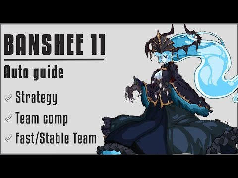 Epic Seven - BANSHEE 11 AUTO GUIDE !! (Jecht Is HERO For This Hunt)