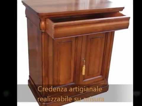 Credenza Da Ingresso : Credenzina madia artigianale da ingresso classica in stile antico