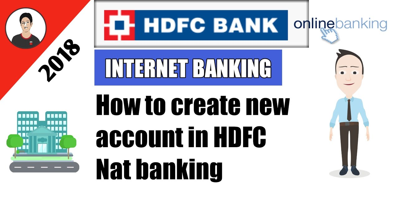 how to create hdfc netbanking account