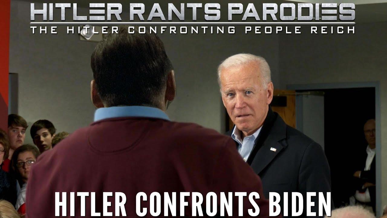 Hitler confronts Biden