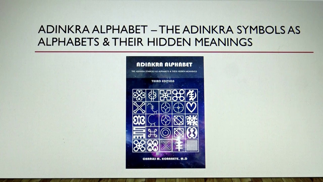 Adinkra Symbols Pronunciation And Meaning Youtube