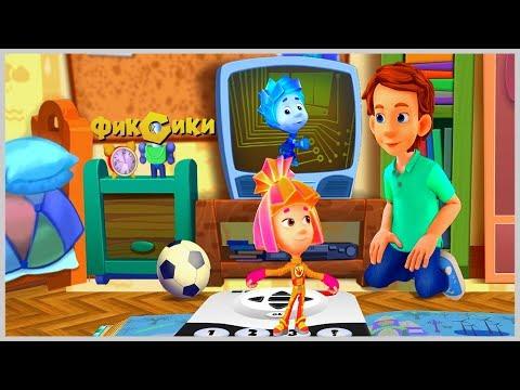 Детский уголок/Kids'Corner Фиксики📺 Мультфильм Помоги 🙎♂️ Дим Димычу нарисовать🖊 Мультик