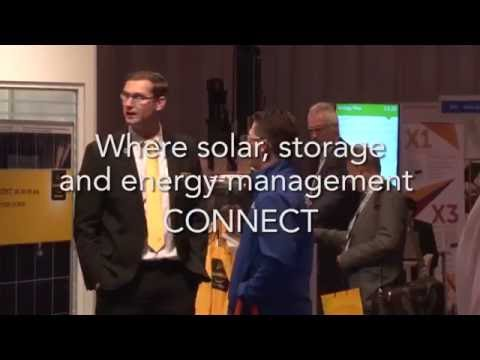 Clean Energy Live / Solar Energy UK 2016 - Where solar, storage and energy management connect