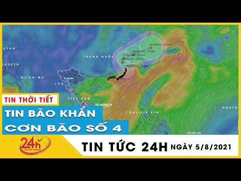 Cập Nhật Tin Bão Mới Nhất  Bão số 4 LuPit di chuyển theo hướng Bắc, sẽ ảnh hưởng tỉnh Nào ?