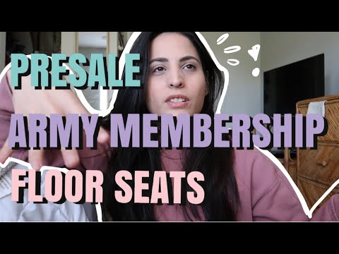 The Best Seats At A Bts Concert, Are Floor Tickets Worth It? Bts Presale Tickets + Army Membership