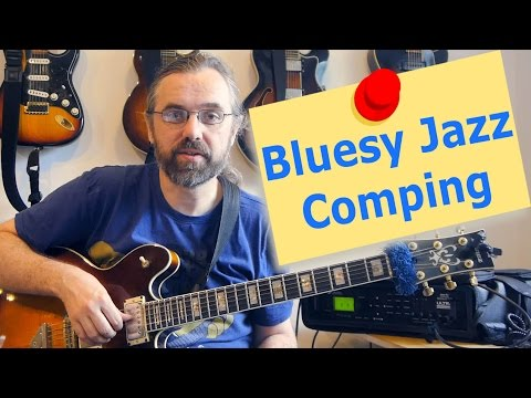 Making Jazz Chords sound Bluesy