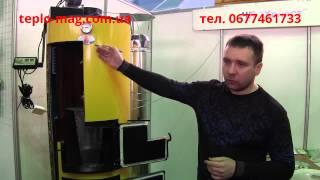 Буран 12, 20, 40 - котлы на твердом топливе длительного горения(Твердотопливные котлы на дровах и угле Буран - http://teplo-mag.com.ua/product_list?bss0=6562., 2015-12-05T09:16:23.000Z)