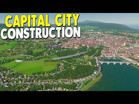 [LIVE?] BEST CAPITAL CITY CONSTRUCTION - New Map Creation - Raptoria - Cities: Skylines Gameplay - 동영상