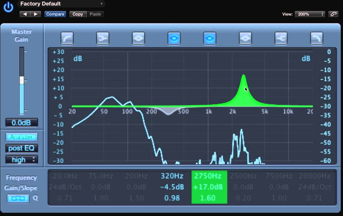 Magic frequencies to equalize a kick drum (bass drum)