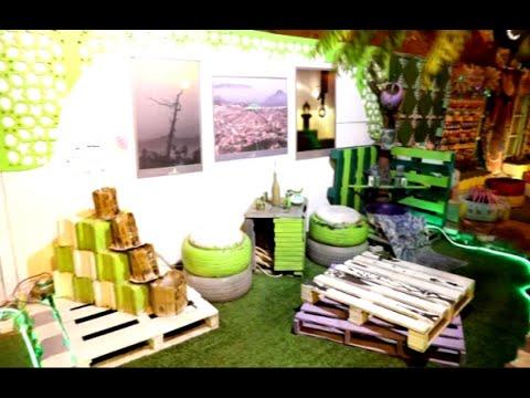 أخبار خاصة |تحويل المستهلكات اليومية إلى حديقة -ملهمتي- في #السعودية  - نشر قبل 2 ساعة