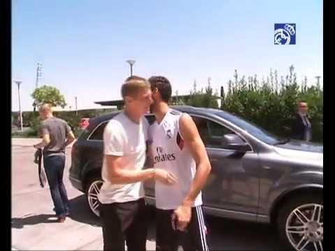 Toni Kroos at the Ciudad Real Madrid