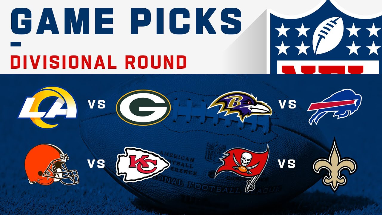 Divisional Round Game Picks! | NFL 2020