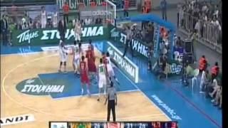 olympiakos panathinaikos 0-3 finals basket 2013 kalws ta paidia ( καλως τα παιδια )