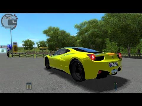 City Car Driving 1.5.0 Ferrari 458 Italia TrackIR 4 Pro [1080P]
