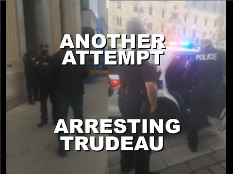 Another Attempt for a Citizen's Arrest of Trudeau in Ottawa | Oct 5th 2020