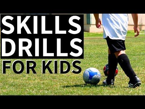 Best Soccer Skills For 8 Year Olds - Beginner Soccer Drills For Kids