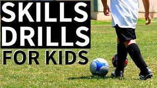 Best Soccer Skills For 8 Year Olds Beginner Soccer Drills For Kids Youtube