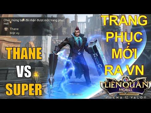 Trang phục mới ra mắt Việt Nam: THANE Mật vụ ngầu lòi và kèo đối đầu Superman Arena of Valor