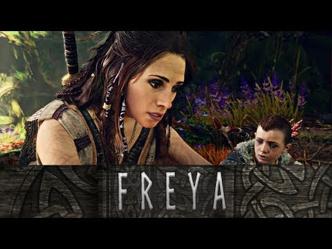 God of War - The Tragic Story of the Vanir Goddess Freya // All Scenes