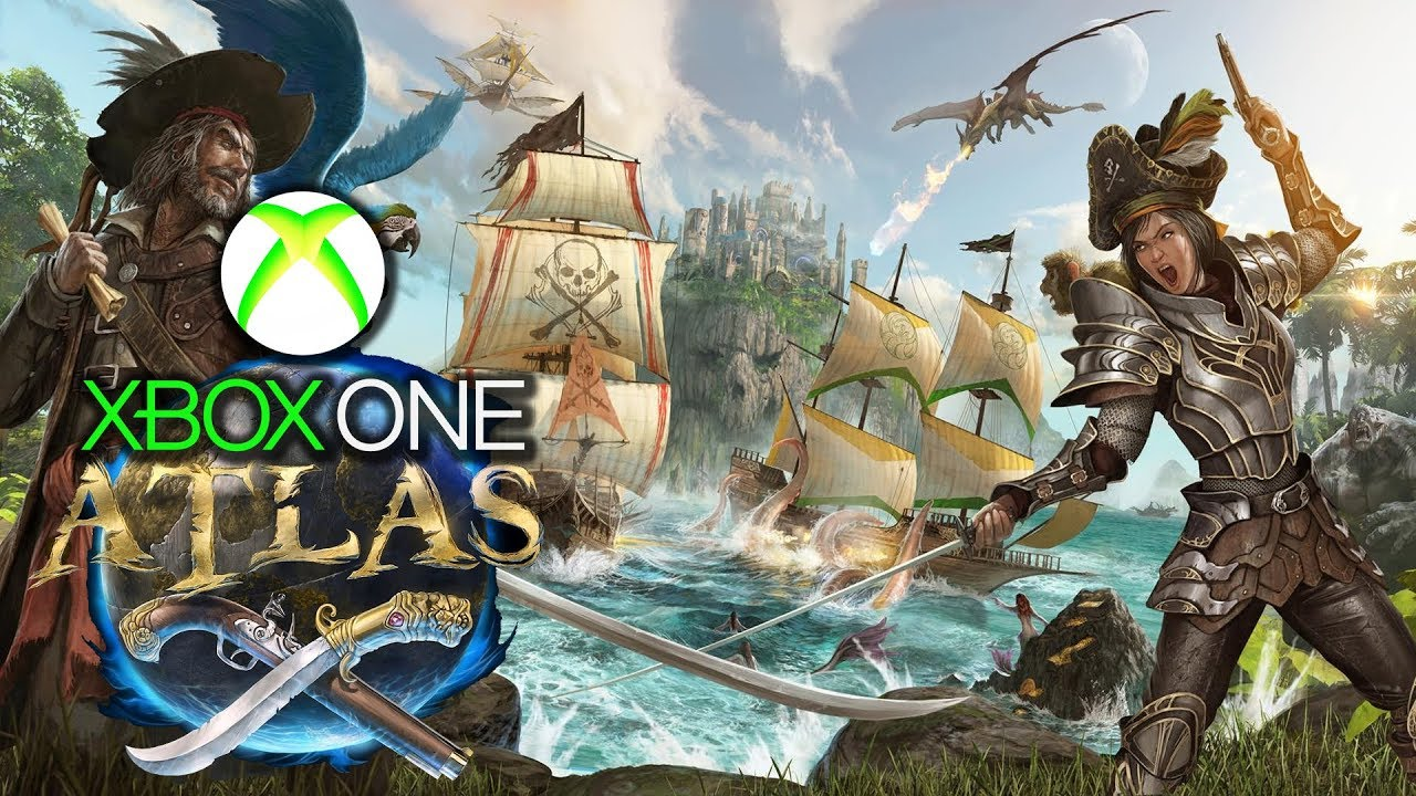 Atlas Xbox One X Gameplay Review Game Preview Performance Is Poor Ark Reskin